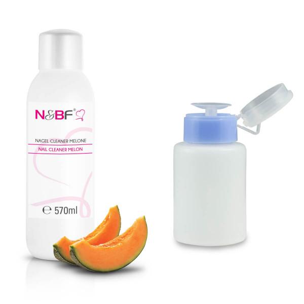 Nails-Beauty-Factory-Nail-Cleaner-Melon-570-ml-Dispenser-Blue
